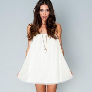 SMYM Lorraine Tube Ice Princess Tulle Mini Dress